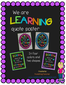 Learning is Messy Quote