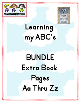 Learning my ABC's Bundle Aa Thru Zz