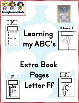 Learning my ABC's Extra Pages Letter Ff