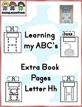 Learning my ABC's Extra Pages Letter Hh