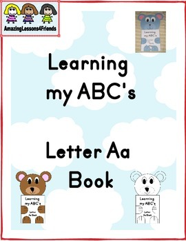 Learning my ABC's Letter Aa