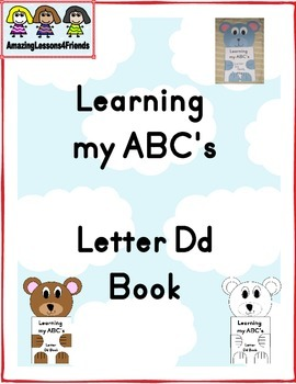 Learning my ABC's Letter Dd Book