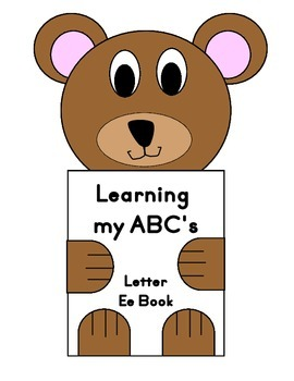 Learning my ABC's Letter Ee Book