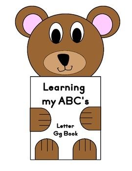 Learning my ABC's Letter Gg Book