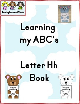 Learning my ABC's Letter Hh Book