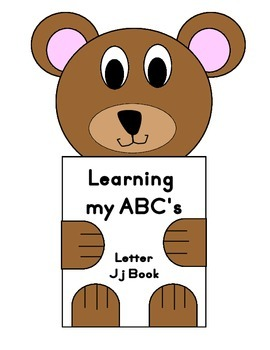 Learning my ABC's Letter Jj Book