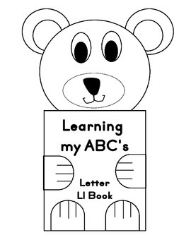 Learning my ABC's Letter Ll Book