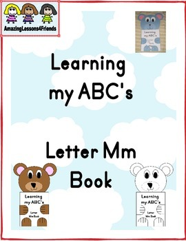 Learning my ABC's Letter Mm Book