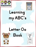 Learning my ABC's Letter Oo Book
