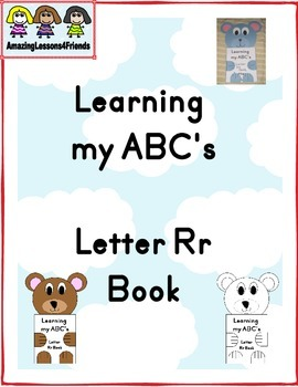 Learning my ABC's Letter Rr Book