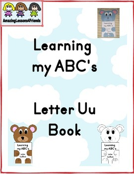 Learning my ABC's Letter Uu Book