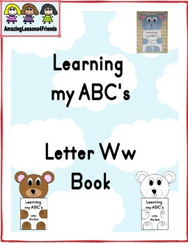 Learning my ABC's Letter Ww Book
