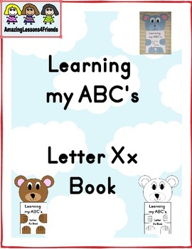 Learning my ABC's Letter Xx Book