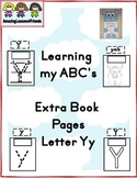 Learning my ABC's Letter Yy Extra Pages