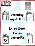 Learning my ABC's letter Rr Extra Pages