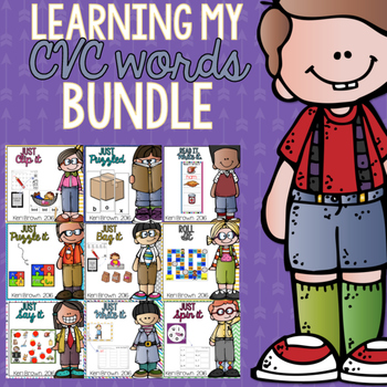 Learning my CVC words Bundle