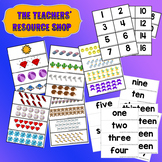 Counting and Learning numbers from 1-20 and their names