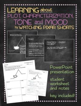 Learning plot, characterization, tone and mood by watching Pixar shorts