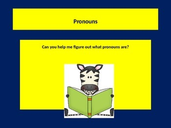 Learning pronouns I, ME, HE, SHE, IT, WE & THEY. Lesson.
