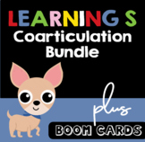 Learning /s/ Sound Bundle with Boom Cards | Articulation |