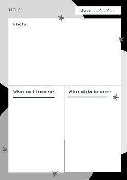 Learning story templates