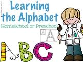 Preschool Curriculum for the Alphabet