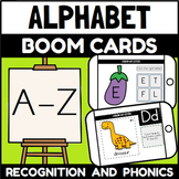 Learning the Alphabet Boom Cards™ Bundle (Distance Learning)