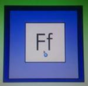 Learning the Alphabet - Letter Ff