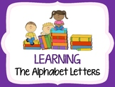 Learning the Alphabet Letters