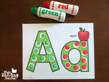 Learning the Alphabet: Printable ABC Packs