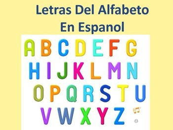 Learning the Alphabet in Spanish