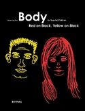 Learning the Body for Special Children: Red on Black, Yellow on Black