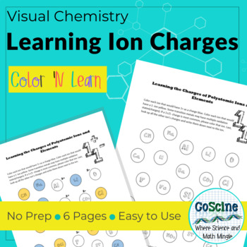 Learning the Charges of Ions and Polyatomic Ions