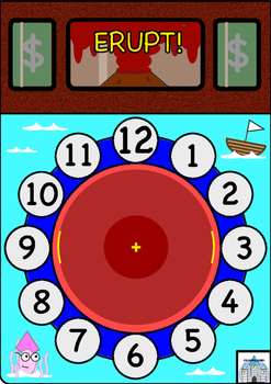 Learning the Clock: Volcano Time Game!