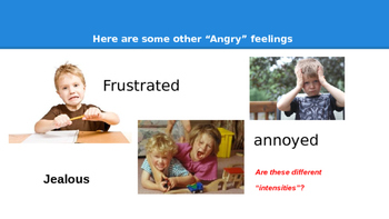Learning to Manage the Intensities of Anger
