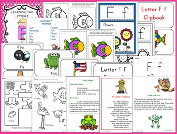 Learning the Letter F