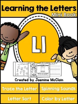 Learning the Letter L Mini Book
