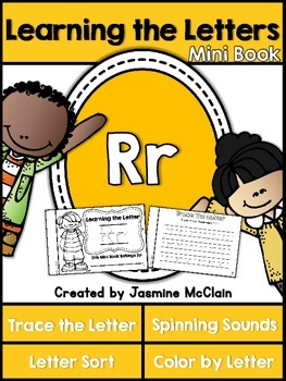 Learning the Letter R Mini Book