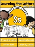 Learning the Letter S Mini Book