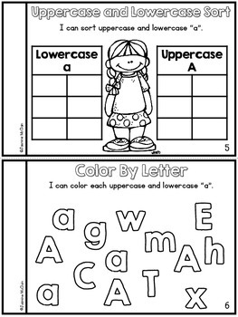 Learning the Letters Mini Books (BUNDLED)