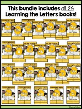 Learning the Letters Mini Books (BUNDLED)