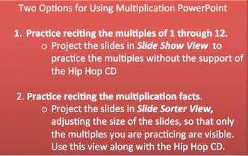 Learning the Multiples with Hip Hop