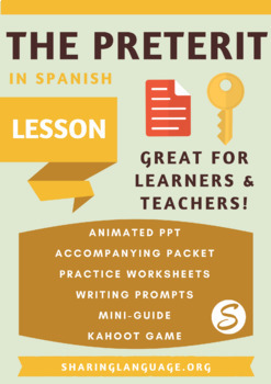 Learning the Preterit - Complete Spanish Lesson