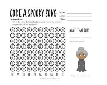 Learning the Re Minor Scale - Halloween Theme!