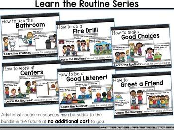 Routines Bundle - EDITABLE!