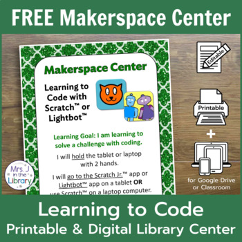 Makerspace Starter: Learning to Code Makerspace or Library Center