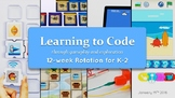 Learning to Code Through Gameplay and Exploration 12-week Rotation for K-2