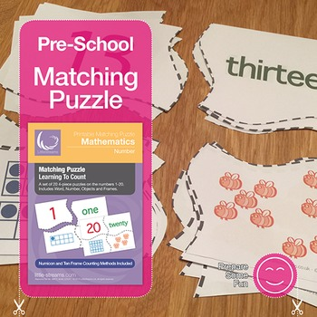 Learning to Count Matching Puzzle