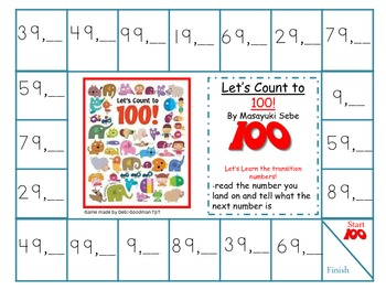 Learning to Count to 100-transition numbers