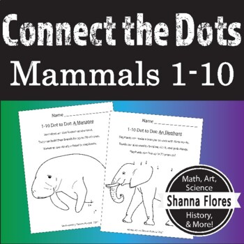 Learning to Count with Dot to Dot, Numbers 1 - 10, Animal